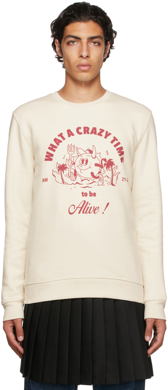 Off-White 'Crazy Time' Sweatshirt