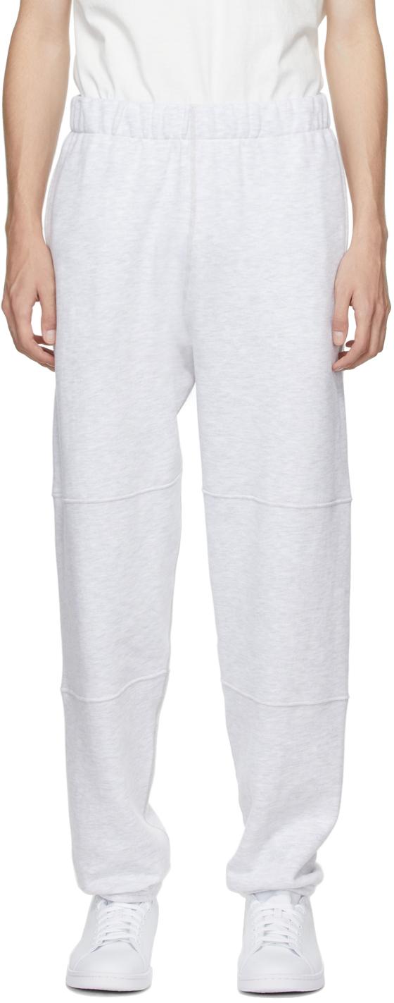 Grey Paneled Lounge Pants