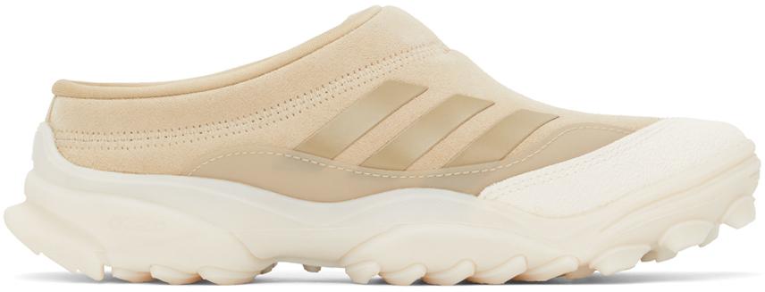 Beige adidas Originals Edition Suede GSG Mule Sneakers