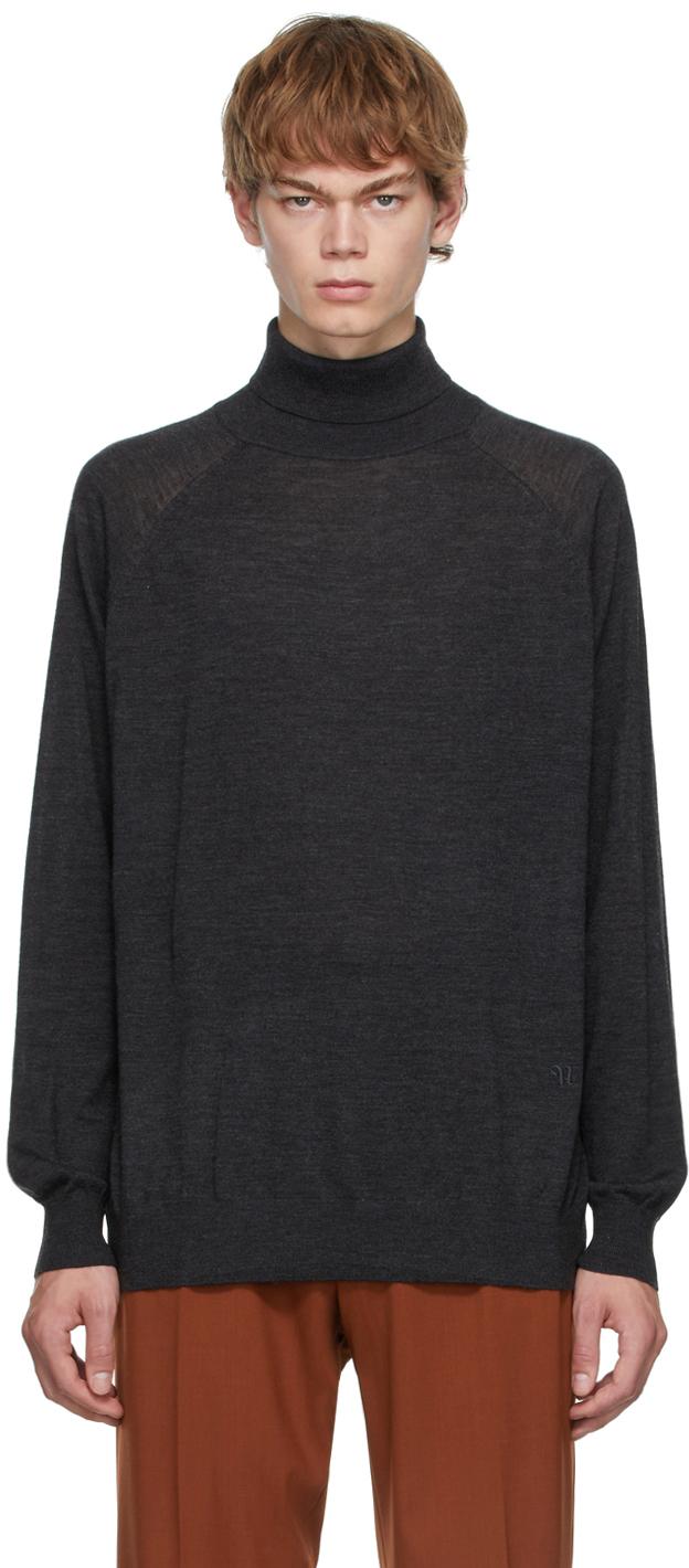 Grey Zade Turtleneck Sweater