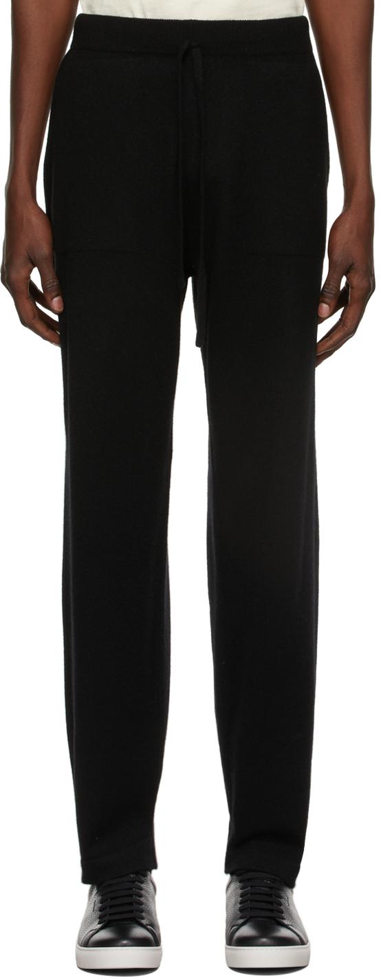 Black Cashmere Yamato Lounge Pants