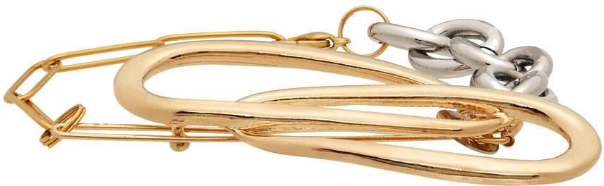Gold & Silver Mix Bracelet