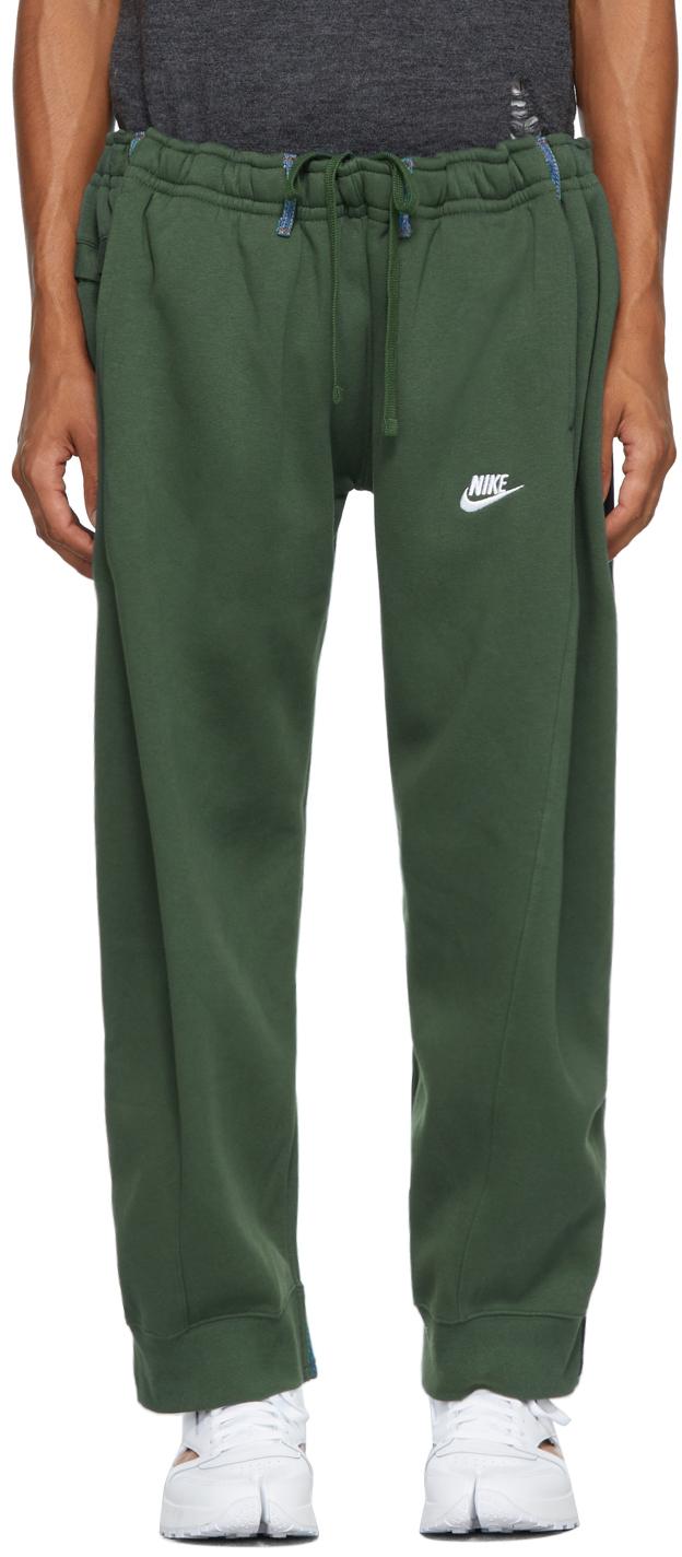 Green & Blue Overjogging Jeans Lounge Pants