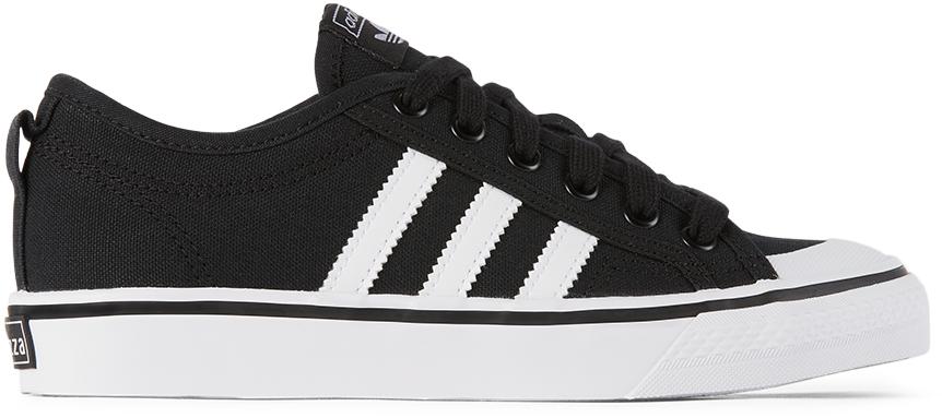 adidas Kids 黑色 Nizza 儿童运动鞋