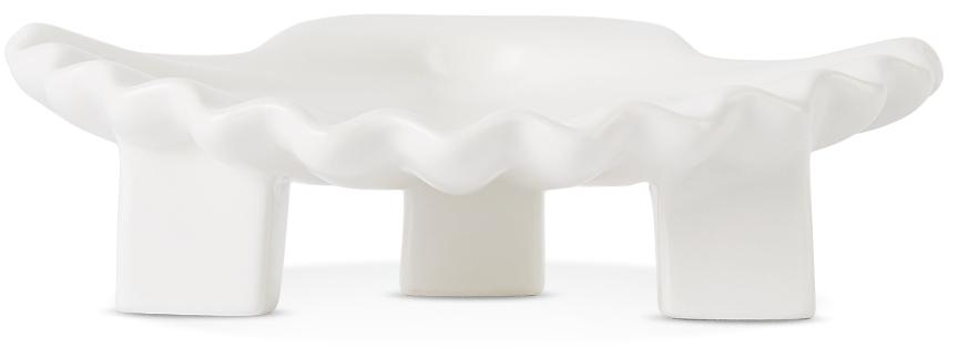 White Seashell Plate