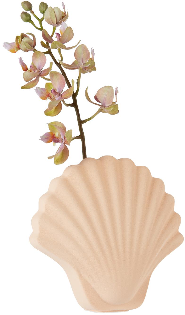 ピンク Seashell フラワーベース