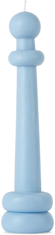 Blue Elle Candle