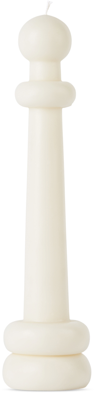White Elle Candle