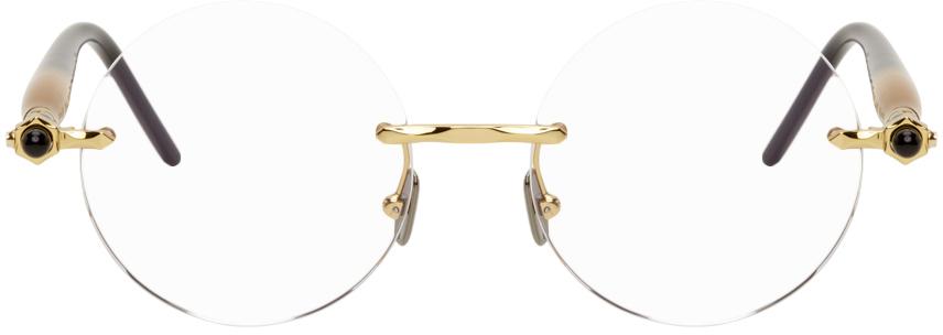 Gold P50 Glasses