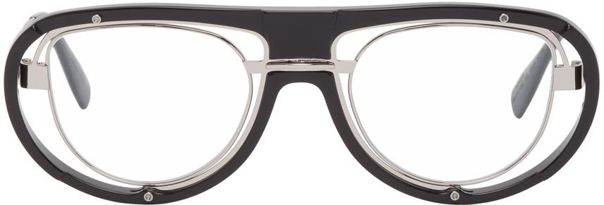 Black & Silver H92 Glasses