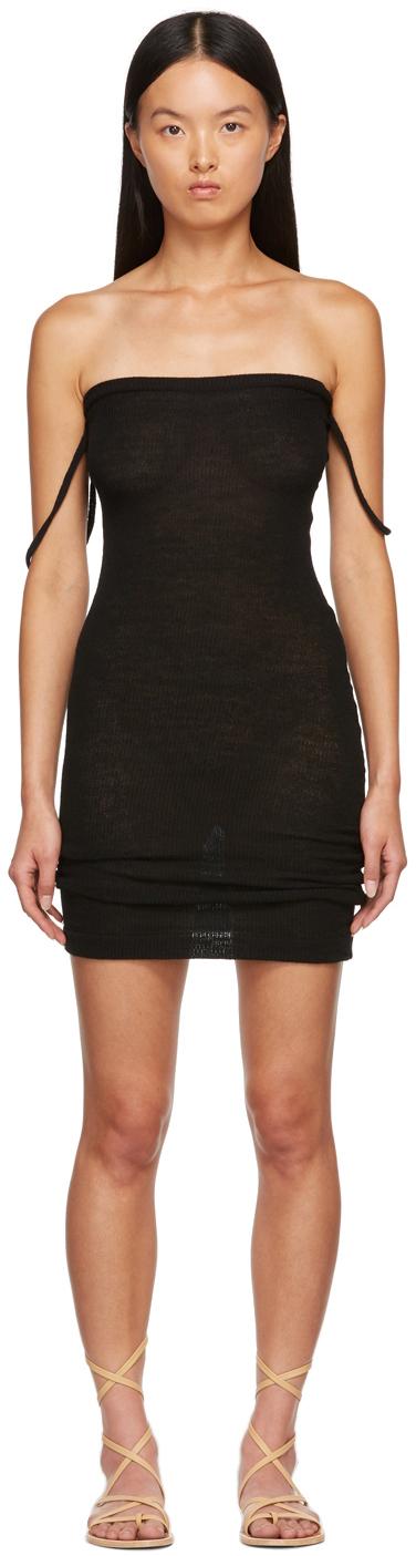 SSENSE Exclusive Black Tombee Dress