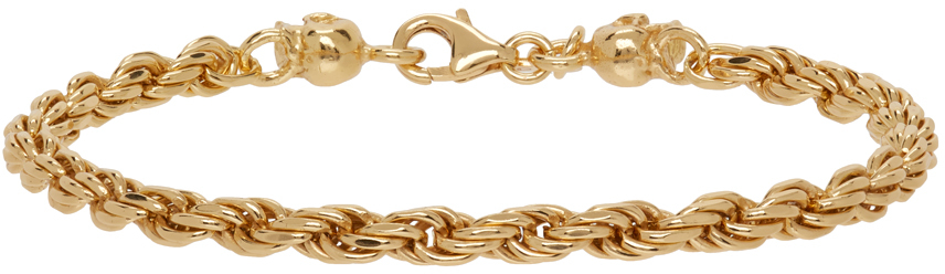 SSENSE Exclusive Gold Rope Chain Bracelet