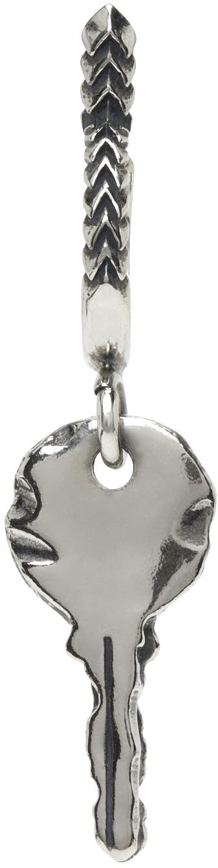 SSENSE Exclusive Silver Key Single Earring
