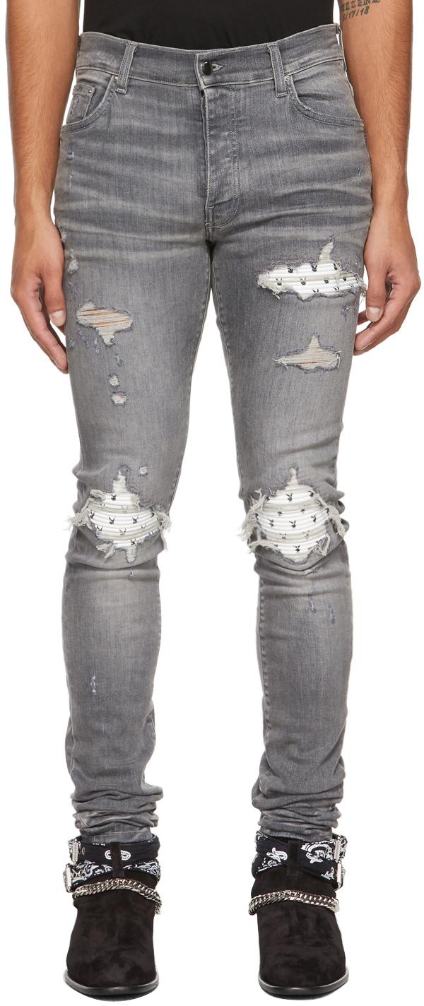 Grey Playboy Edition MX1 Jeans