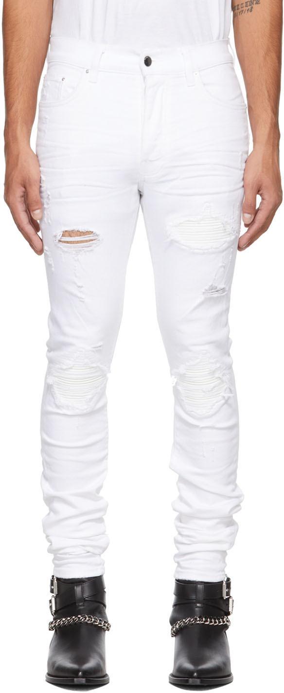 AMIRI White MX1 Jeans