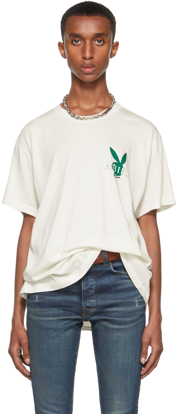 Off-White Playboy Edition Cover Bunny T-Shirt
