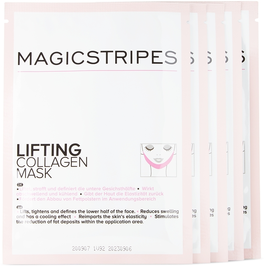 Three-Pack Lifting Collagen Masks