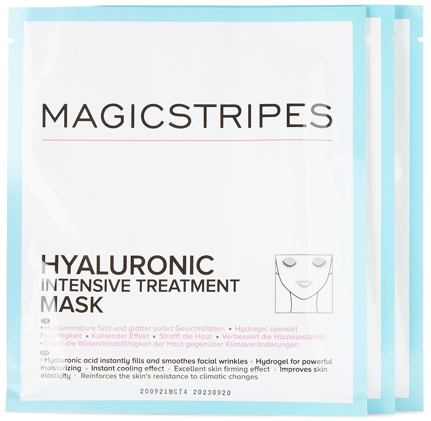 Three-Pack Hyaluronic Intensive Treatment Masks