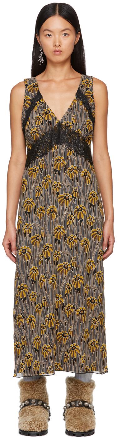 Multicolor Penny Lane Sleeveless Dress