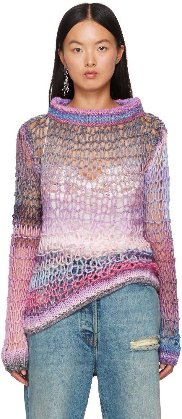 Pink Sunset Spacedye Sweater
