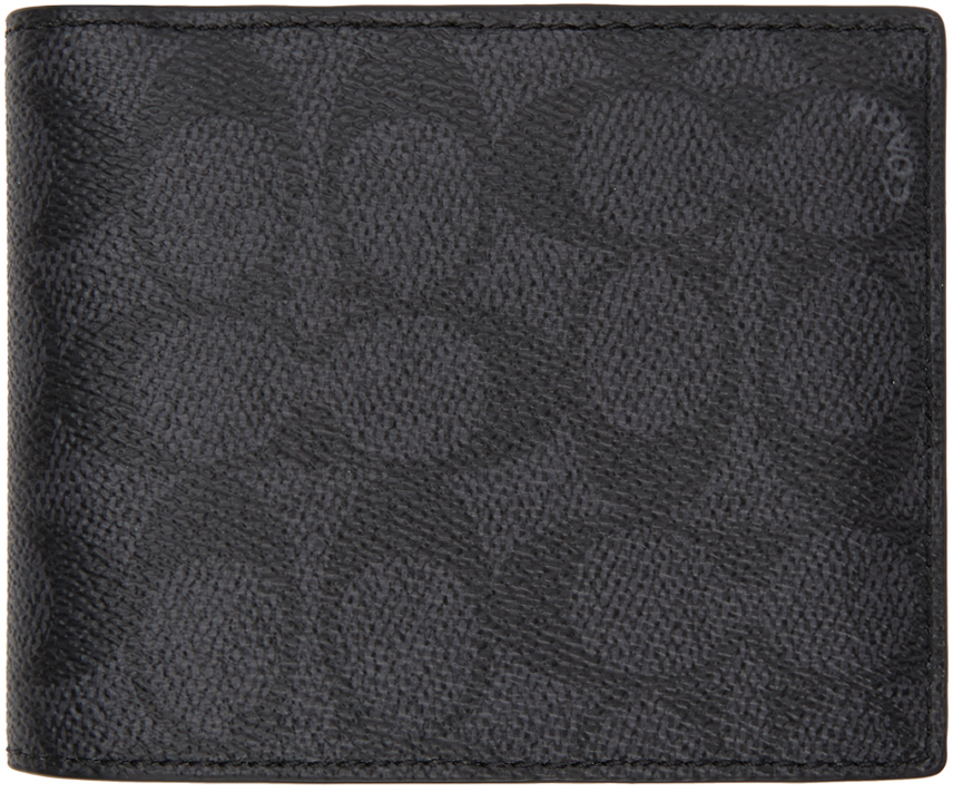 Grey Signature 3-In-1 Wallet