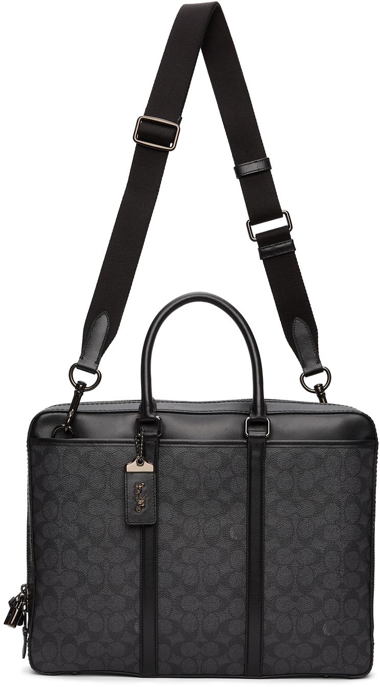 Black Metropolitan Slim Briefcase