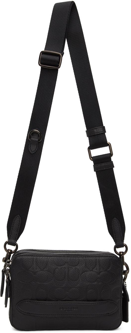 Black Charter Crossbody Bag