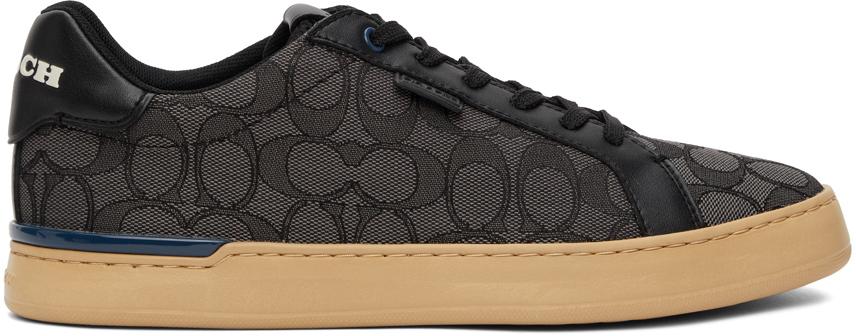 Grey Lowline Low Top Sneakers