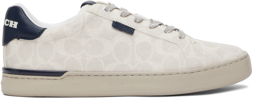 Taupe Signature Lowline Sneakers