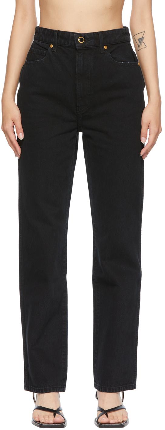 Black 'The Abigail' Jeans