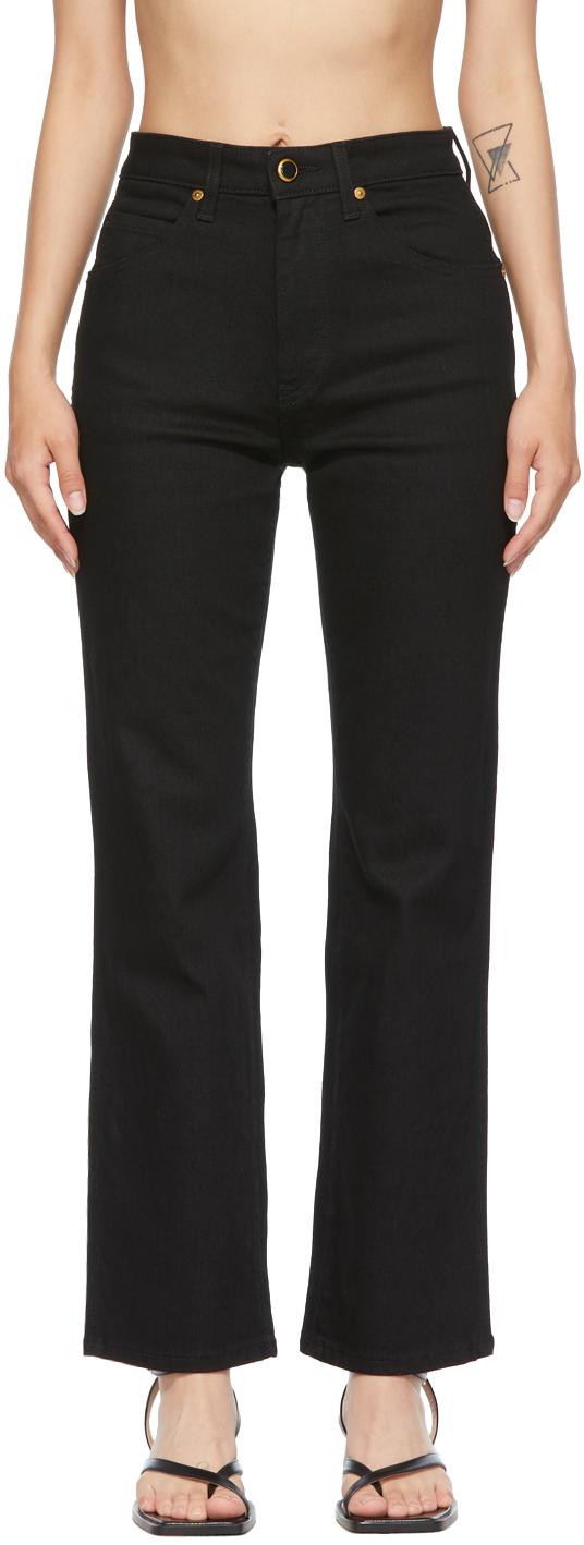 Black 'The Vivian' New Bootcut Jeans