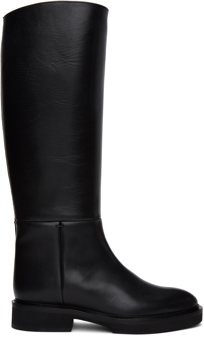 Black 'The Derby' Boots
