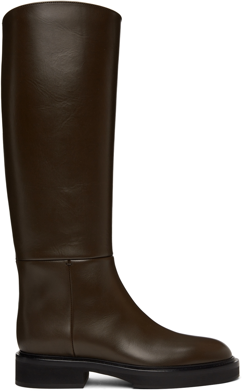 Brown 'The Derby' Tall Boots
