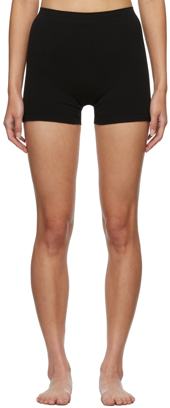 Black Oleta Shorts