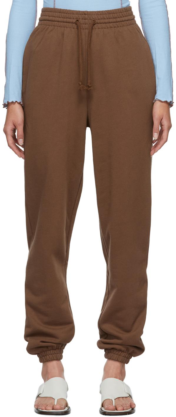Brown Organic Cotton Lounge Pants