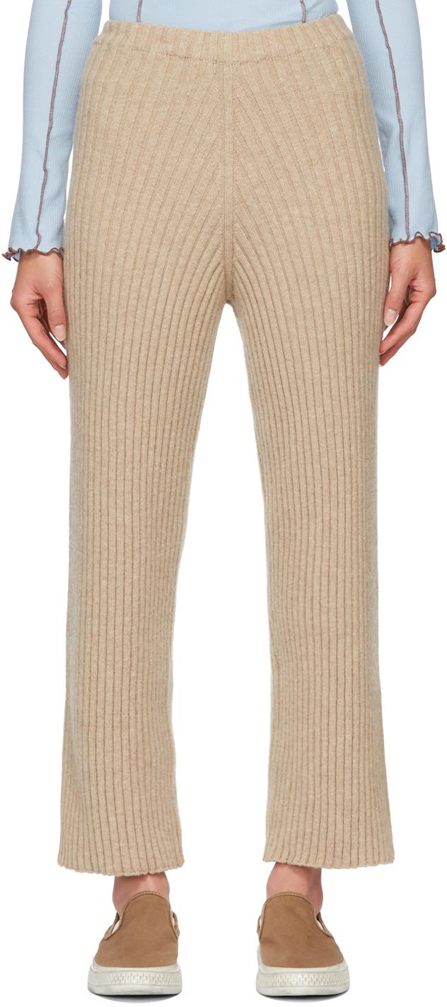 Beige Maru Lounge Pants