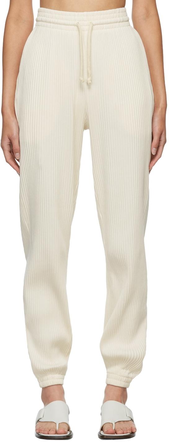 Off-White Rib Lounge Pants