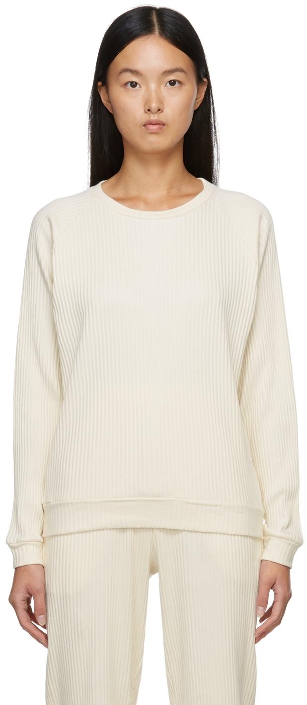 Off-White Basic Rib Sweatshirt