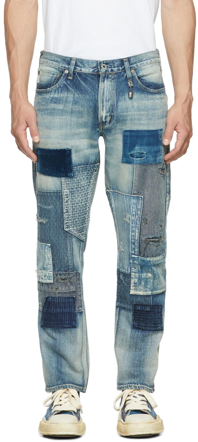 Blue Slim Fit Straight CS85 Jeans