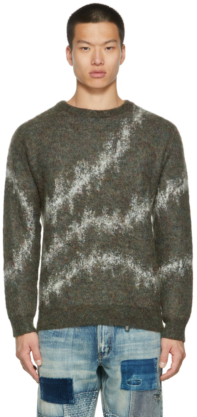 Khaki Mohair Sweater