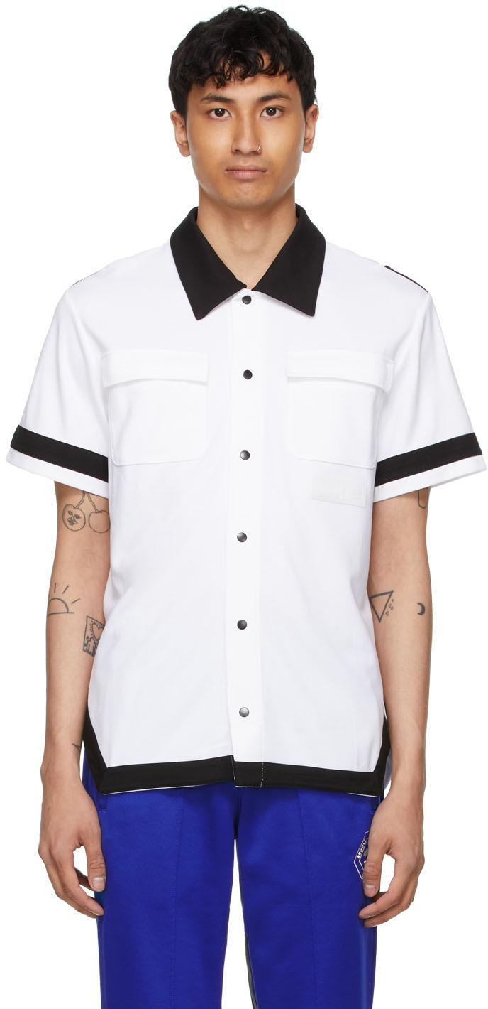 Chemise à manches courtes blanche édition Puma x Rhuigi