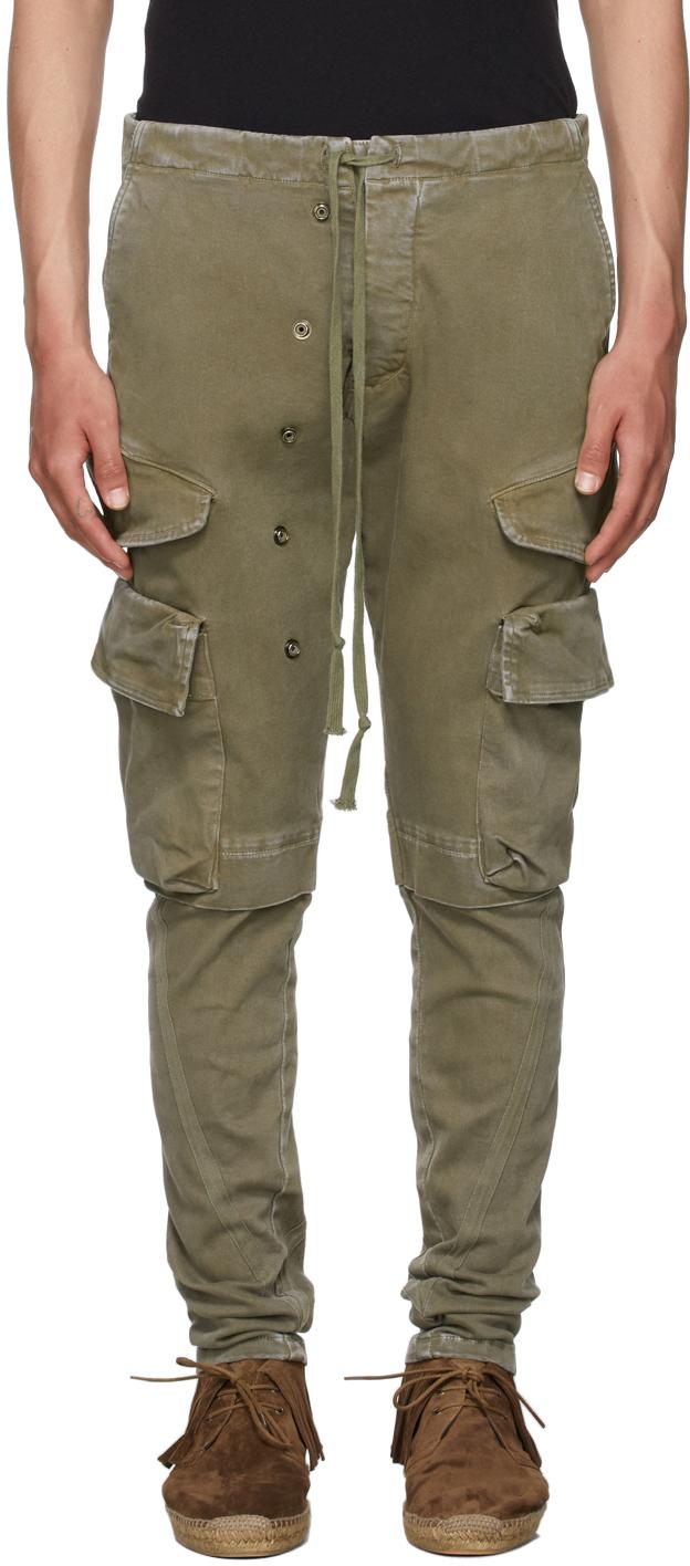 SSENSE Exclusive Khaki Slim Cargo Pants