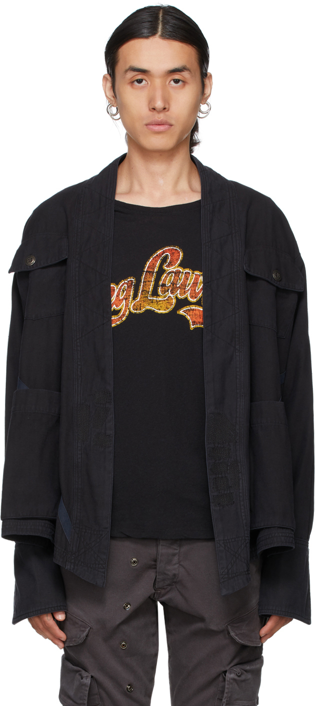 Black Baker Studio Jacket