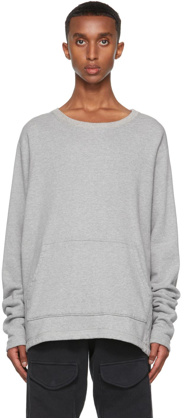 SSENSE Exclusive Grey Hemp Sweatshirt
