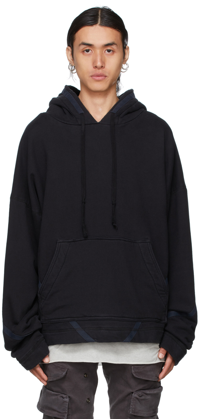 Black Basic Hoodie