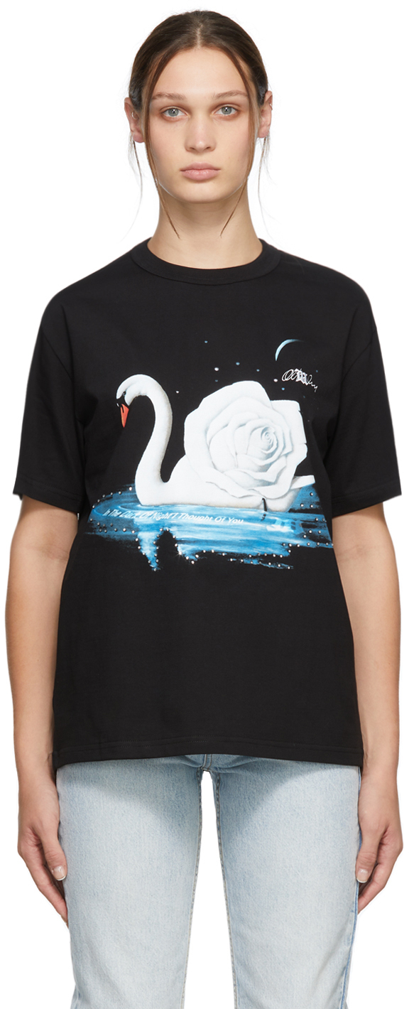 Black Night Swan T-Shirt