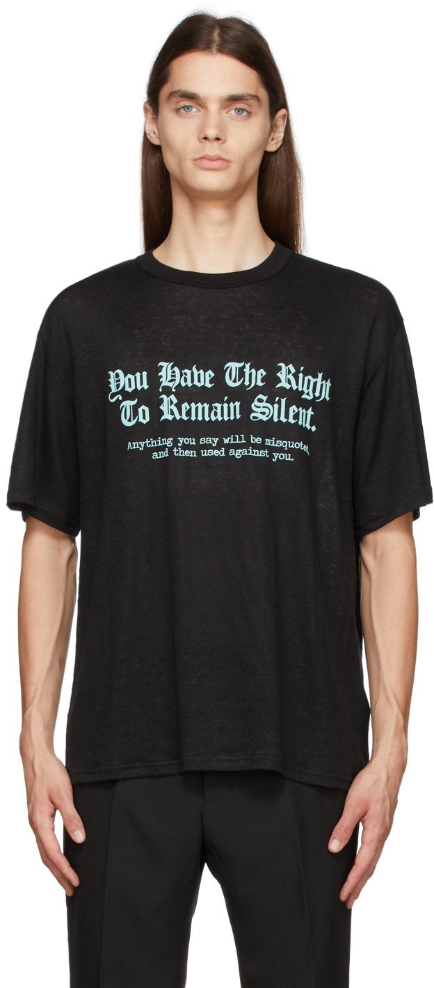 Black Silent & Violent T-Shirt