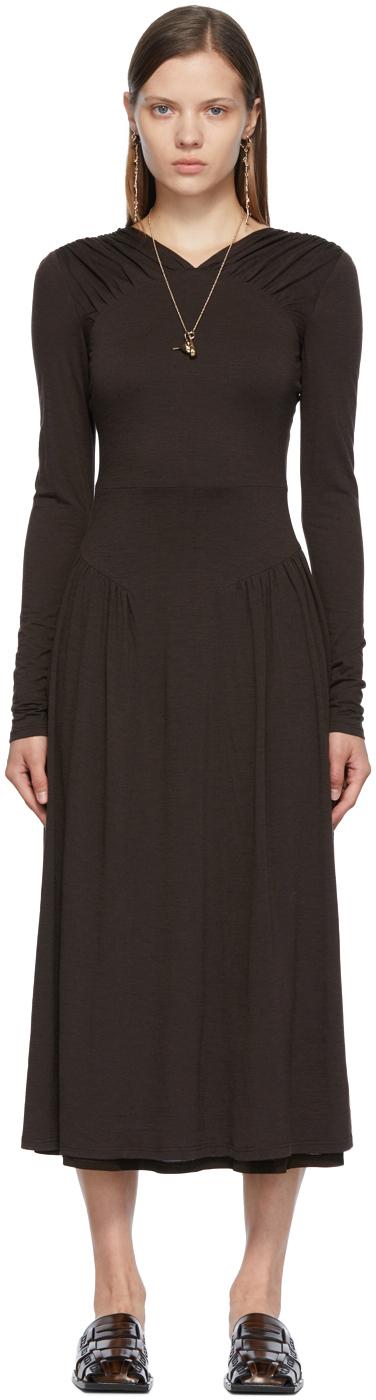 SSENSE Exclusive Brown Athena Dress