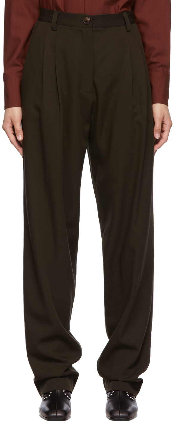 SSENSE Exclusive Brown Emily Trousers