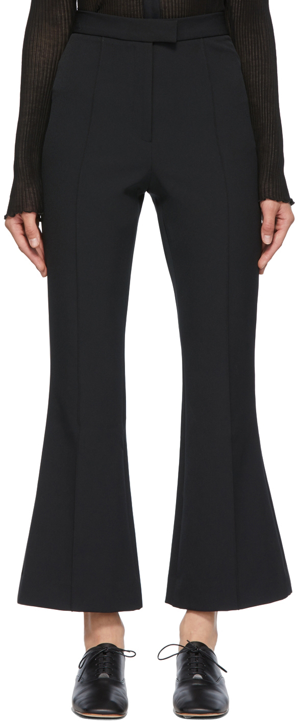 SSENSE Exclusive Black Anya Trousers